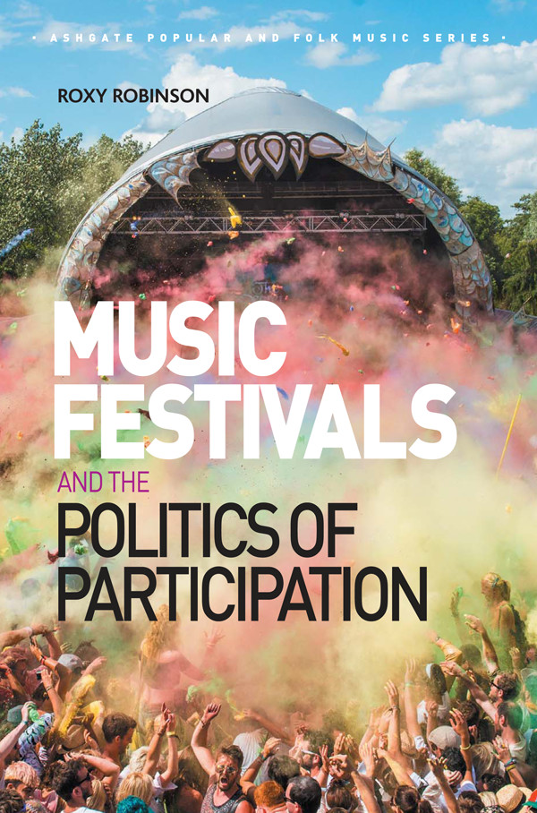 Music festivals book